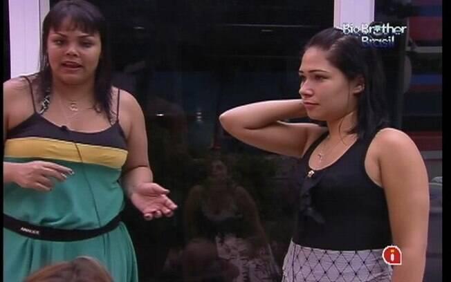 Analice e Jakeline falam sobre choro com Mayara