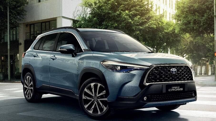 Corolla Cross: SUV já é fabricado em Sorocaba (SP), na mesma linha de montagem onde era fabricado do compacto Etios