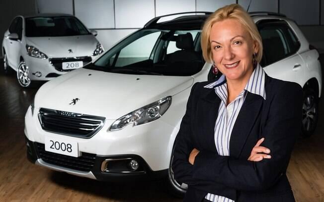 Ana Theresa Borsari: tese de doutorado sobre o consumidor e sonho de que a Peugeot seja vista como a marca dos SUVs.