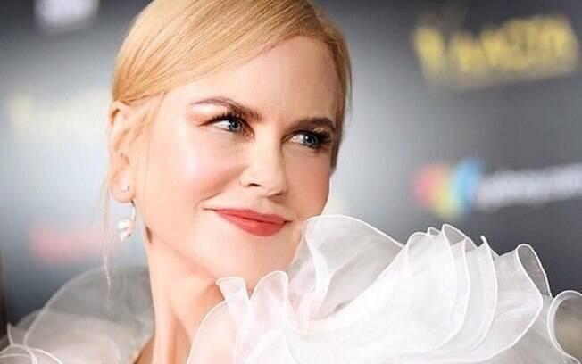 Nicole Kidman se irrita com apresentador após pergunta sobre sua vida íntima