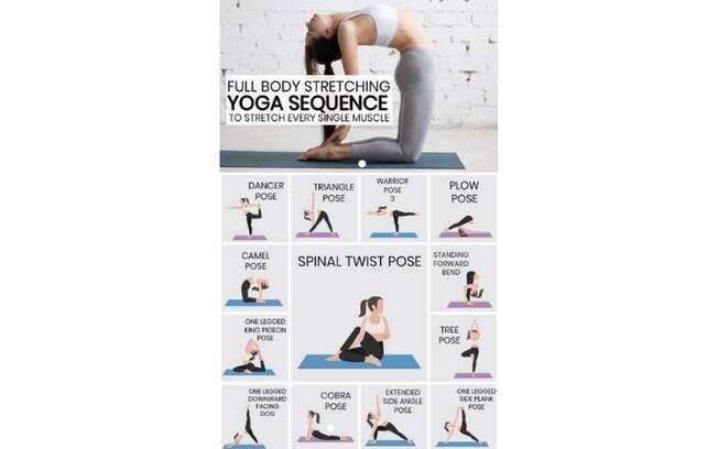 Depois de acordar, praticar ioga é uma boa opção para relaxar os músculos e acabar com as dores