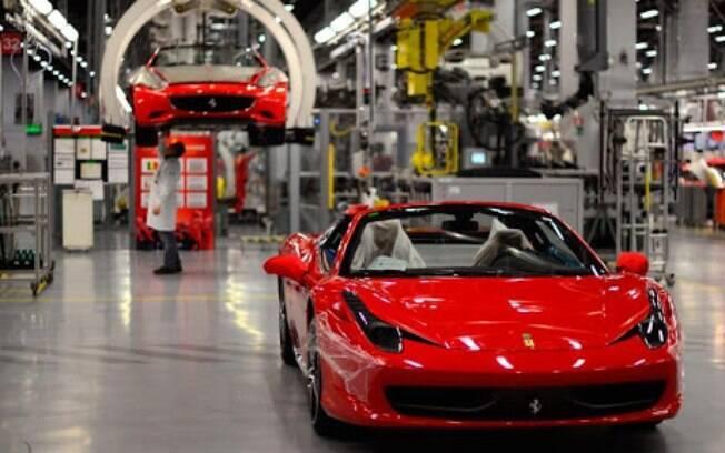 Ferrari é outra fabricante italiana que deixou de produzir seus modelos na linha de montagem depois do surto do novo coronavírus