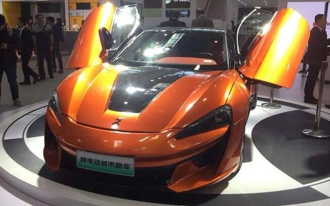 KDC Regato: qualquer semelhança com o renomado McLaren 570S não é mera coincidência