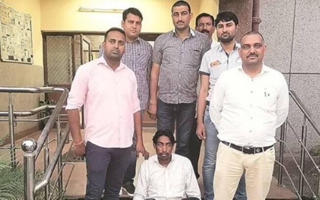Manjeet Singh Karketa, de 30 anos, e seus sócios assassinaram Soni Kumari no início do mês de maio em Nova Deli, índia
