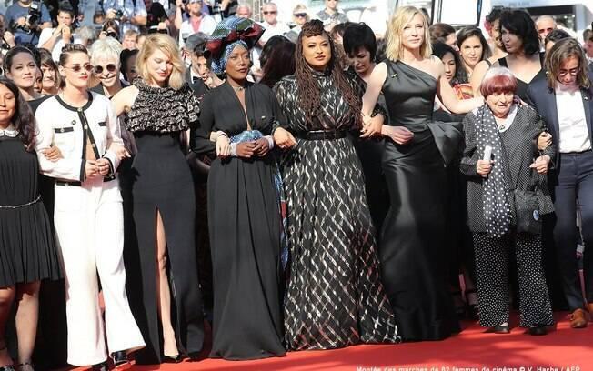 Lideradas por cate Blanchett e Agnès varda, artistas protestam no festival de Cannes