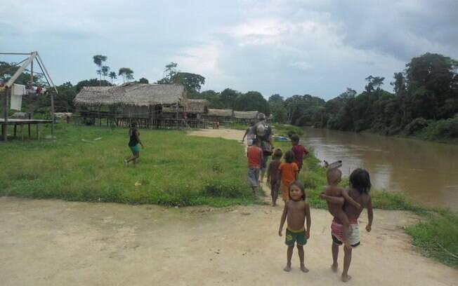 Índios isolados foram até aldeia Kulina