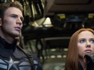 Estrelas.  Chris Evans e Scarlett Johansson protagonizam novo filme