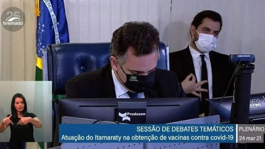 Assessor especial para Assuntos Internacionais da Presidência, Filipe Martins, é réu em processo por crime de racismo