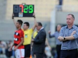 Mano Menezes terá equipe bastante modificada em confronto com o Vitória, no Maracanã