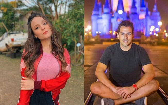 Larissa Manoela e Rodrigo Branco