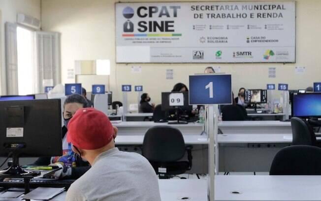 Campinas começa a semana com 98 vagas de emprego no Cpat
