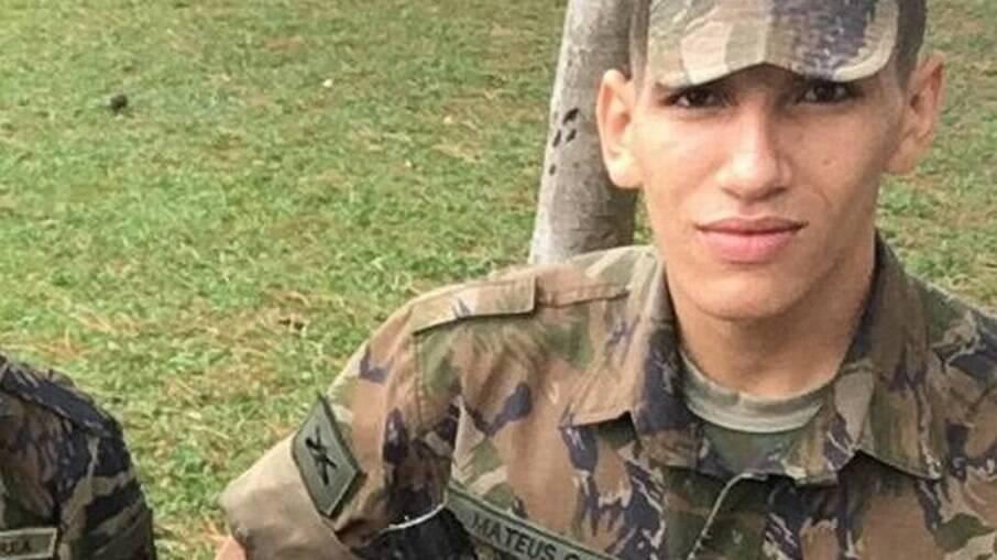 Soldado da FAB, Mateus da Silva Santos, morto aos 22 anos