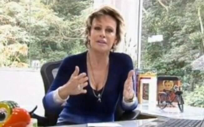 Ana Maria Braga faz corrente de mensagens para Reynaldo Gianecchini