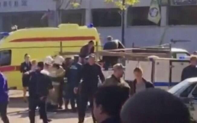 Autor do atentado na Crimeia foi um estudante de 22 anos, do Instituto Politécnico de Kerch, que não foi identificado