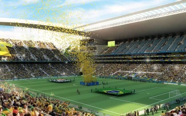 Arena Corinthians recebeu a abertura da Copa do Mundo 2014