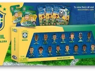 Seleção Brasileira volta a ter versão em miniatura no Mundial deste ano