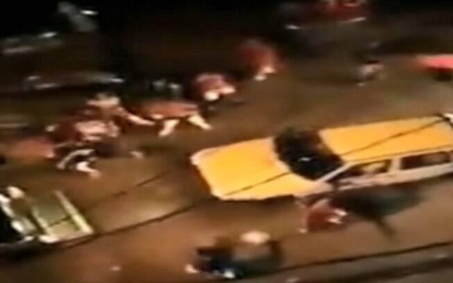 Ao menos 6 pessoas foram atropeladas