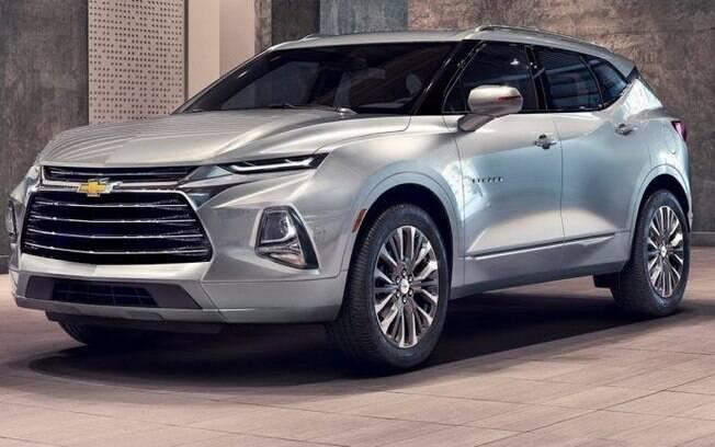 Chevrolet Blazer está entre os SUVs médios com desenho arrojado. Tem boas chances de ser vendido no Brasil