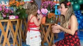 Tatá celebra aniversário de Clara Maria com festa temática