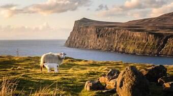 Belas paisagens e história preservada na Escócia