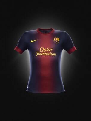 Uniforme 1 do Barcelona para a próxima temporada. Foto  Divulgação ... 330cbc07b6539