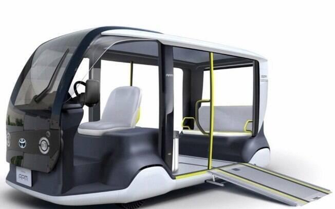 Toyota vai colocar em operação 200 APMs, com tecnologia de carro elétrico ,  para o traslado durante as Olimpíadas