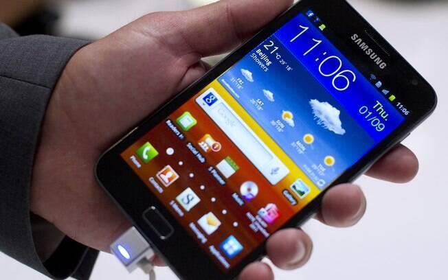 Galaxy Note, smartphone de 5,3 polegadas ganhará nova versão