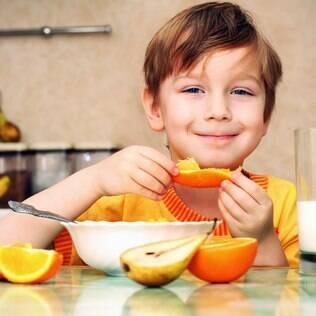 """""""A comida depende muito do exemplo que a criança recebe dentro de casa"""