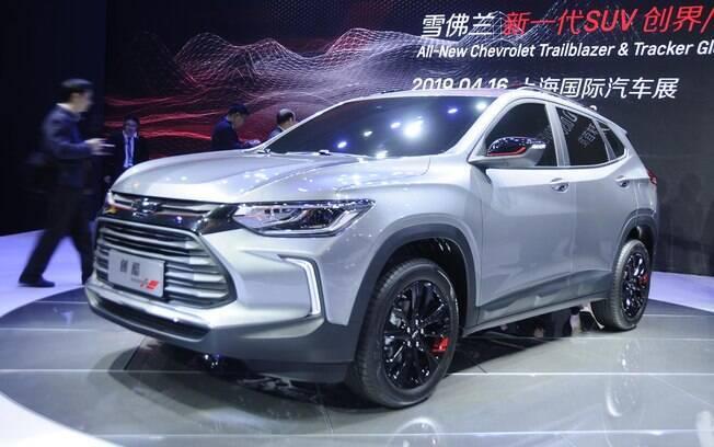 Chevrolet Tracker da nova geração é mostrado pela primeira vez ao público no Salão de Xangai, na China
