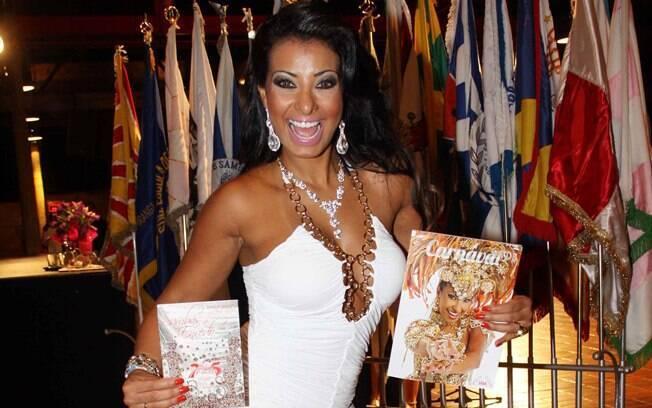 Cinthia Santos será a capa da revista do Carnaval 2012 de São Paulo