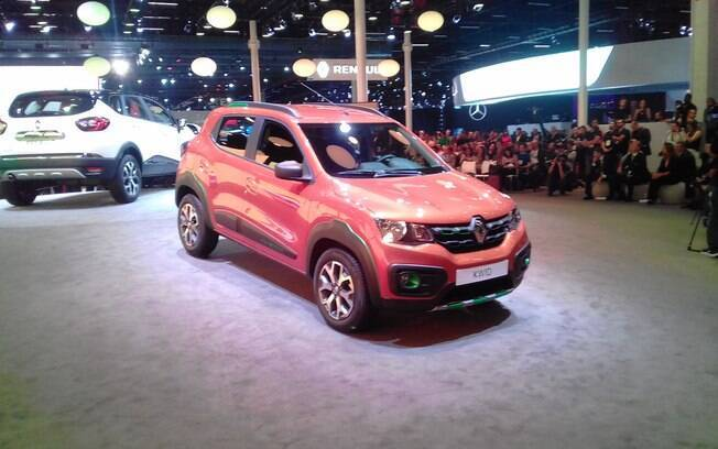 Renault Kwid: mostrado no Salão do Automóvel, em novembro, será um dos lançamentos importantes de junho