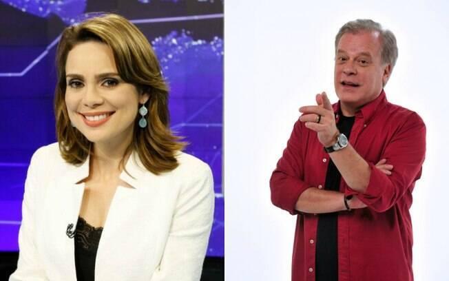 Chico Pinheiro ironizou um tuíte de Rachel Sheherazade neste sábado (20)