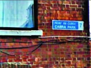 Local onde a brasileira inventou ter sido atacada, em Dublin