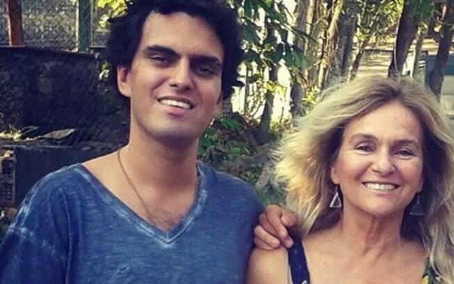 Marcia Brito e o filho, Rian, encontrado morto no Rio de Janeiro