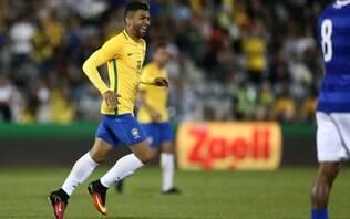 Elogiado após estreia com gol, Gabigol ganha pontos com técnico Dunga