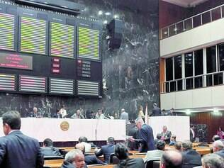 Plenário. Deputados terão que incrementar a transparência de suas ações para permitir a fiscalização