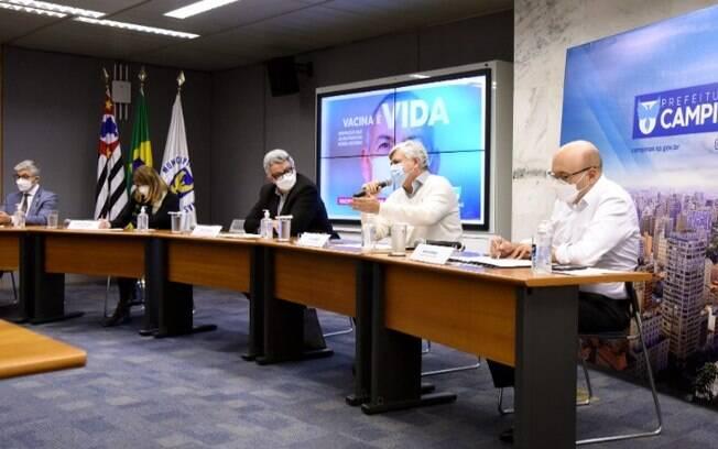 AO VIVO - Dário anuncia medidas contra a covid-19 em Campinas