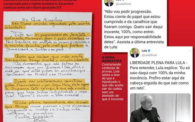 Estratégia de Lula para se manter como