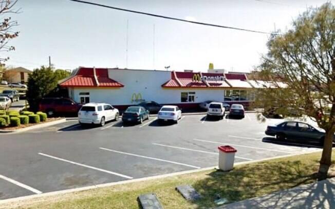 McDonald's da Shields Blvd, em Oklahoma, era o local em que Princess usava seus talentos