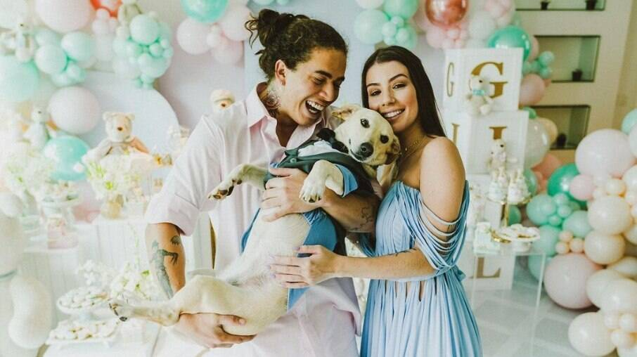 Whindersson Nunes e Maria Lina revelam sexo do bebê