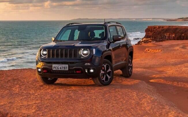 Jeep Renegade: apesar da queda das vendas, assim como aconteceu com os principais rivais, ainda se manteve na liderança do segmento no mês