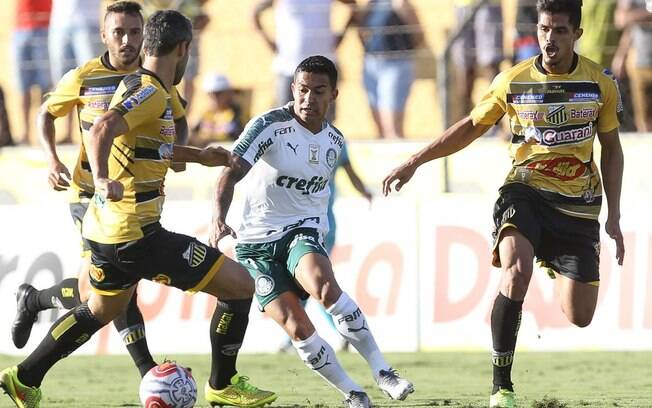 Palmeiras e Novorizontino empataram em 1 a 1