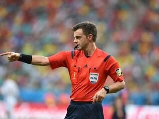 Árbitro dirigiu duas partidas da Argentina neste Mundial