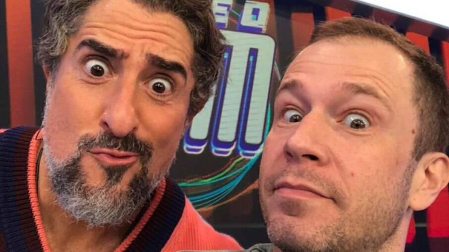 Marcos Mion comenta saída de Tiago Leifert da Globo