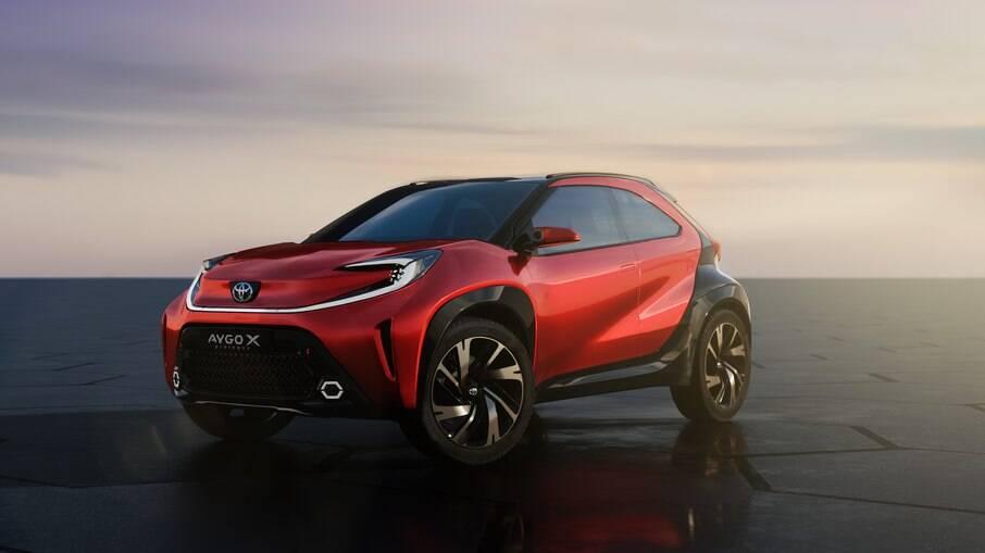 Conceito Toyota Aygo X prologue vai substituir o urbano Aygo na Europa