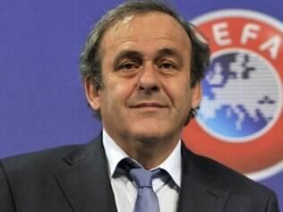 Michel Platini comanda a Uefa desde o começo de 2007, quando venceu o sueco Lennart Johansson
