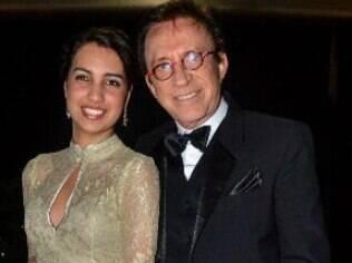 Moacyr Franco e Pamela Noronha: 56 anos de diferença