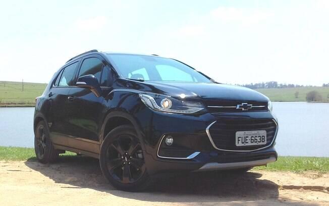 Chevrolet Tracker Midnight: entre os itens exclusivos estão as rodas de aro 18 polegadas, pintadas de preto brilhante