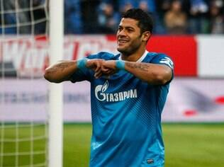 Hulk, atacante do Zenit