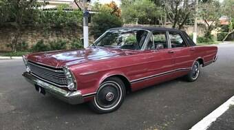 Assista ao vídeo do raro e luxuoso sedã Ford Galaxie LTD Landau